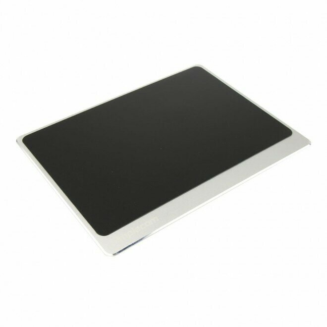 Simplecom CM210 Aluminium Panel Gaming Mouse Pad with Non-Slip Base for Accurate Control Silver