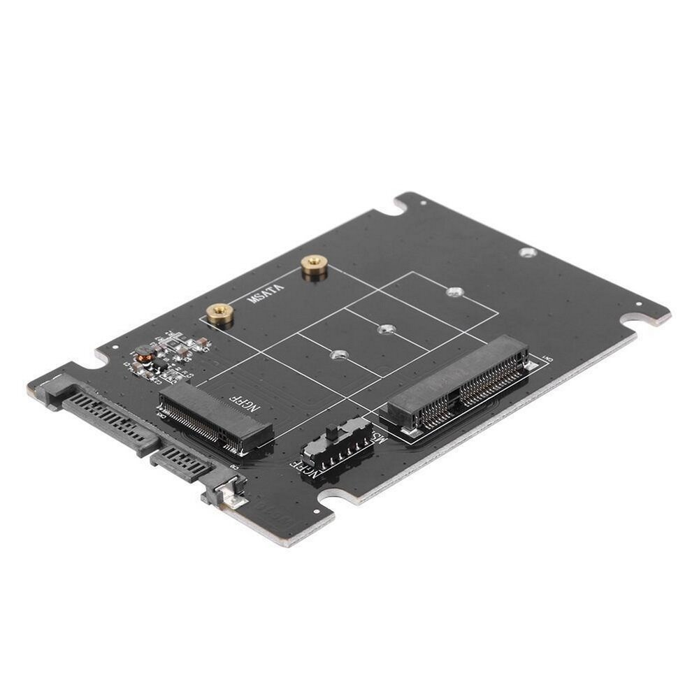 Simplecom SA207 mSATA + M.2 (NGFF) to SATA 2 In 1 Combo Adapter