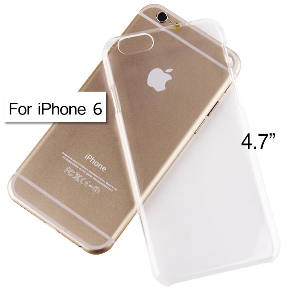 TPU Transparent Hard Case Cover Shell for 4.7 Inch Apple iPhone 6