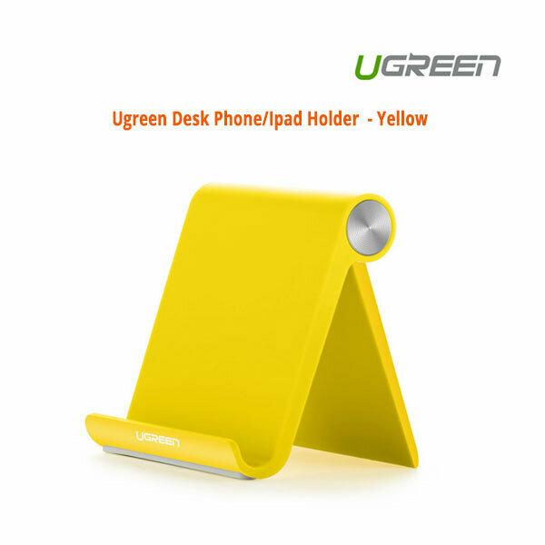 UGREEN Desk Phone/iPad Holder - Yellow (20807)