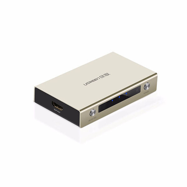 UGREEN HDMI 3 x 1 Switch Zinc Alloy (40278)