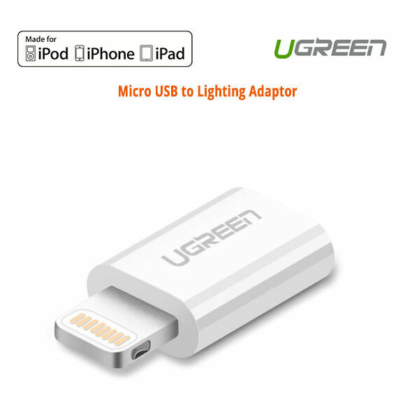 UGREEN Micro USB to Lighting Adaptor (20745)