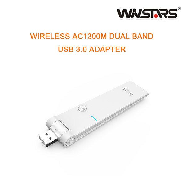 WINSTAR WIRELESS AC1300M DUAL BAND USB 3.0 ADAPTER