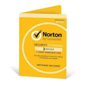 Norton Security Standard 2 Devices 1 Year
