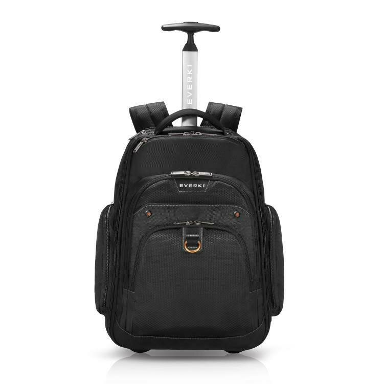 Everki Atlas Wheeled Laptop Backpack, 13-Inch to 17.3-Inch Adaptable Compartment