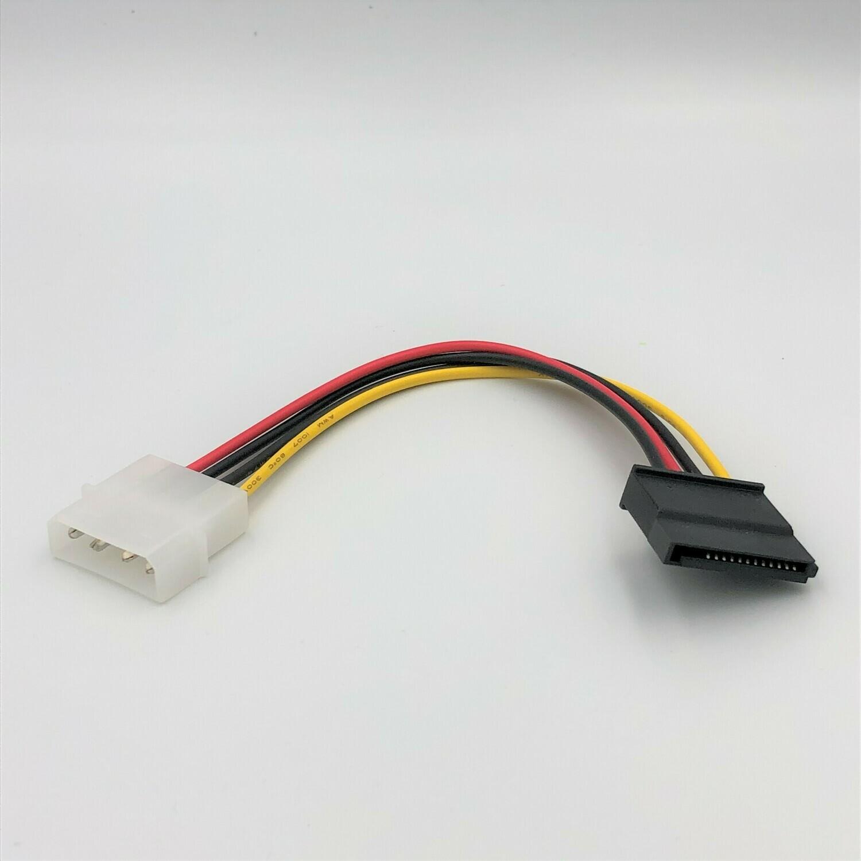 Molex 4 Pin (Male) to SATA (Female) Power Cable