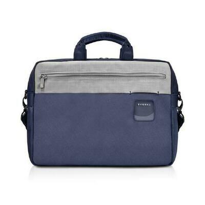 Everki ContemPRO Commuter Laptop Bag Navy Briefcase, up to 15.6