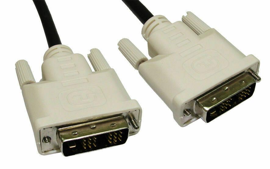GoSelect DVI Male to DVI Male DVI-D 1.5M Cable