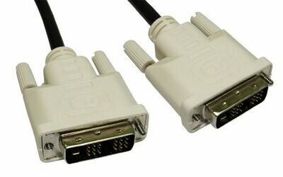 GoSelect DVI Male to DVI Male DVI-D 1.5M Cable