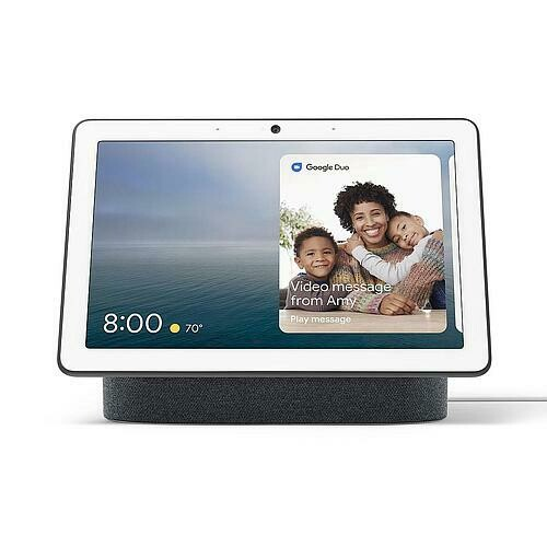 """Google Nest Hub Max 10"""" HD Touch Smart Display & Home Assistant Charcoal GA00639"""