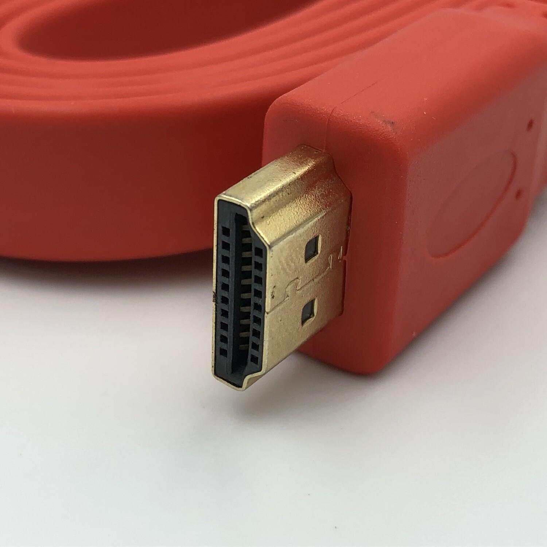 HDMI CABLE FLAT M/M 1.5M V1.4