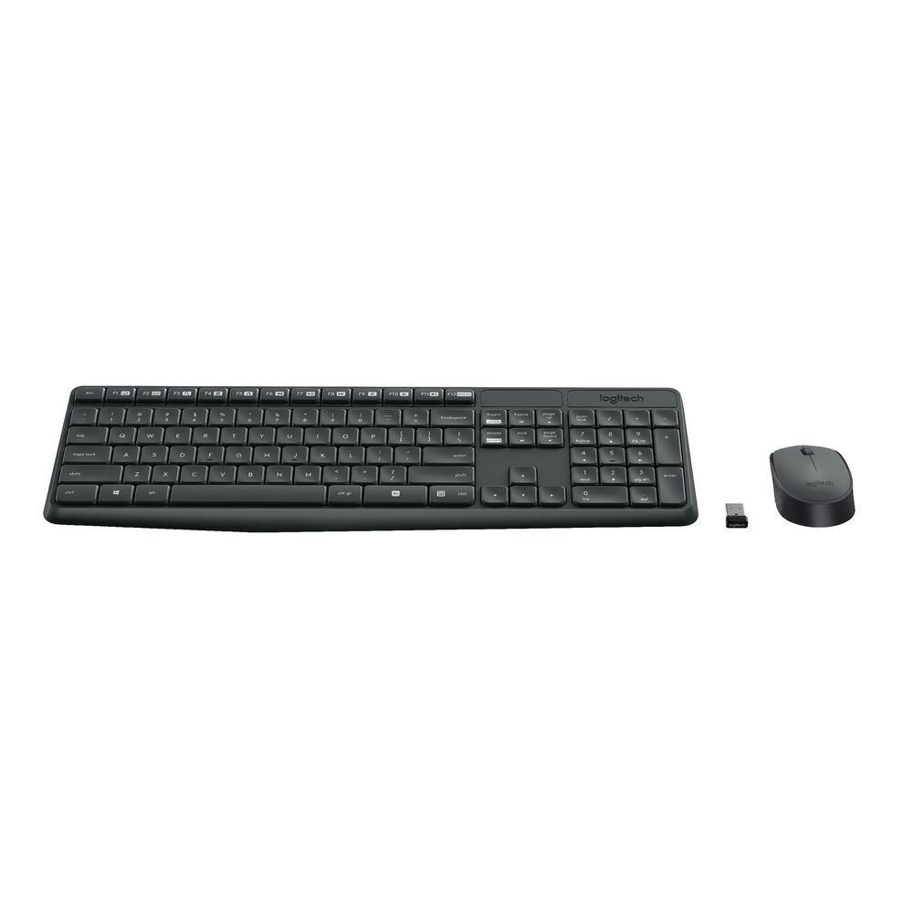 Logitech MK235 Wireless Keyboard Mouse (920-007937)