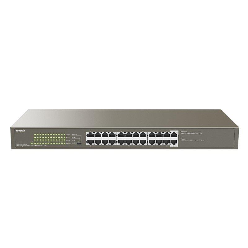 Tenda TEG1124P-24-250W 1000M and PoE 24-Port Gigabit Ethernet Switch with 24-Port PoE