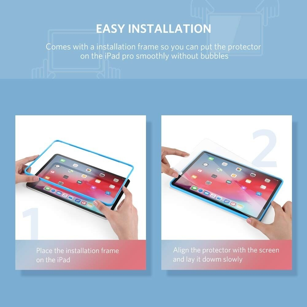 UGREEN iPad Pro HD Screen Protector 1pc/bag 11 inch 60534