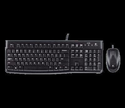 Logitech Desktop MK120 Keyboard and Mouse (920-002586)