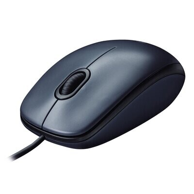Logitech M100R Wired USB Mouse (910-003301)