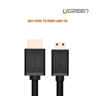 UGREEN Mini HDMI TO HDMI cable 1M (10195)