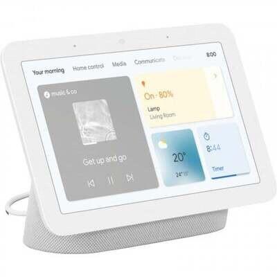 Google Nest 2 Hub HD Touch Smart Display & Home Assistant Chalk GA01331-AU