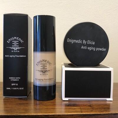 Bundle - Liquid & powder mineral foundation