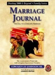 Marriage Journal: Leaders Guide 8-1/2 x 11