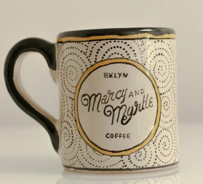 Marcy & Myrtle Hand Painted Talavera Mug