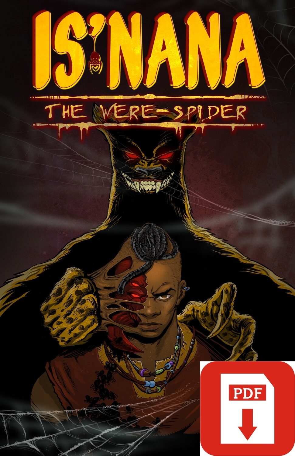 Is'nana the Were-Spider Vol 1: Forgotten Stories PDF Digital Download