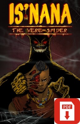 Is'nana the Were-Spider Vol 1: Forgotten Stories PDF Digital Download