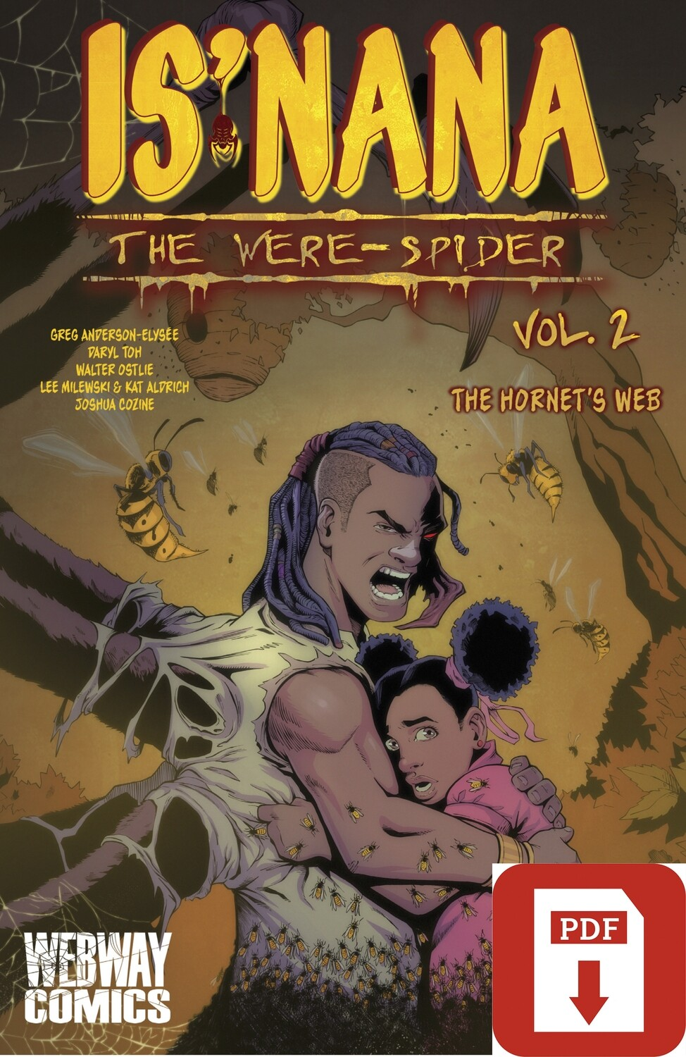 Is'nana the Were-Spider Vol 2: The Hornet's Web Digital PDF Download