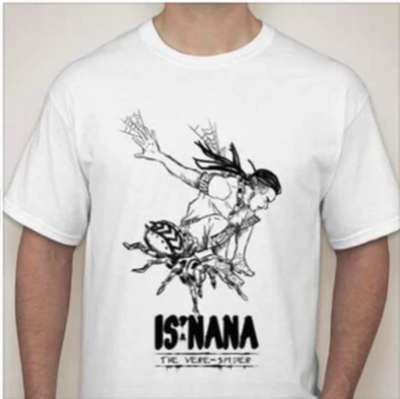 Is'nana the Were-Spider T-Shirt Designed by Daryl Toh 4