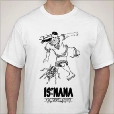 Is'nana the Were-Spider T-Shirt Designed by Daryl Toh 3