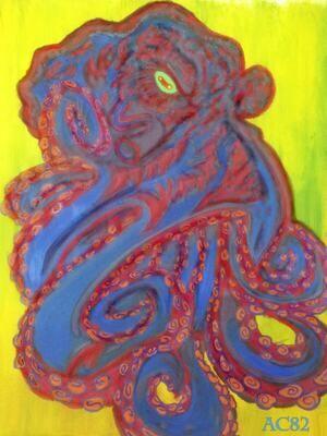 Octopus (digital print)