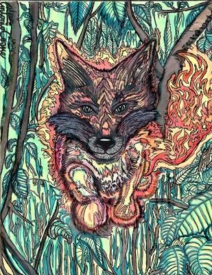 Fire Fox (digital file)