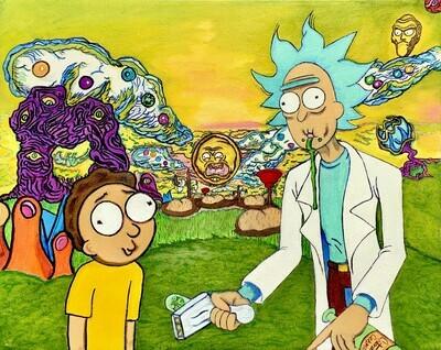 Rick & Morty Fan Art