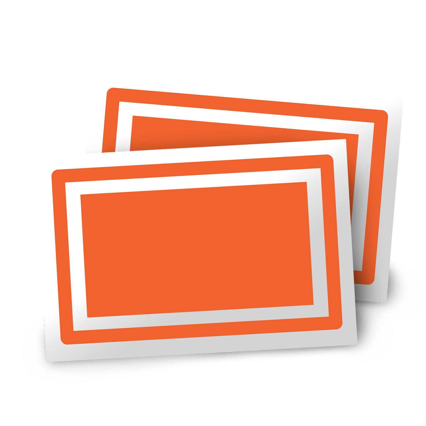 Rectangular Stickers