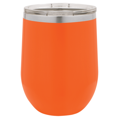 12oz Stemless Wine Tumbler (Assorted Colors)