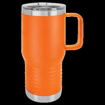 20oz Travel Mugs (Assorted Colors)