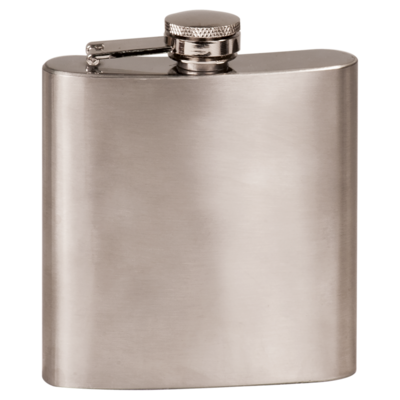 6oz Stainless Steel (Assorted Colors)