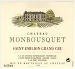 Chateau Monbousquet, Saint-Emilion Grand Cru 2016 (750 ml)
