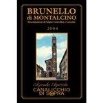 Canalicchio di Sopra Brunello di Montalcino 2004 (5 Liter)