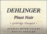 Dehlinger Goldridge Vineyard Pinot Noir, Russian River Valley 2016 (750 ml)