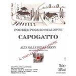 Podere Poggio Scalette 'Capogatto' Alta Valle della Greve 2013 (750 ml)