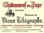 Domaine du Vieux Telegraphe Chateauneuf-du-Pape La Crau 2017 (750 ml)