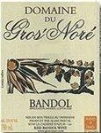 Domaine du Gros' Nore Bandol, Provence 2016 (750 ml)