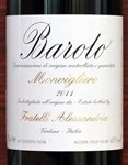 Fratelli Alessandria Barolo Monvigliero 2015 (750 ml)