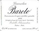 Fratelli Alessandria Barolo Gramolere, Barolo 2012 (1.5 Liter)