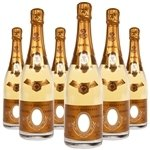 Louis Roederer Cristal Brut Millesime Library Pack 2004, 2006, 2007 (750 ml)