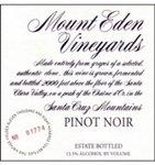 Mount Eden Vineyards Pinot Noir, Santa Cruz Mountains 2015 (750 ml)