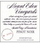 Mount Eden Vineyards Pinot Noir, Santa Cruz Mountains 2015 (750 ml)
