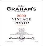 W. & J. Graham's Vintage Port 2000 (750 ml)
