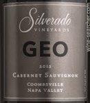 Silverado Vineyards Geo Cabernet Sauvignon, Coombsville 2015 (750 ml)